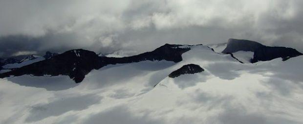 Zdjęcie gór w Norwegii
